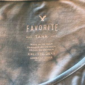 American Eagle Outfitters Tops - American Eagle XXL Favorite Tank Tie Dye